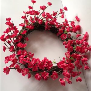 Beautiful floral wreath / door wreath